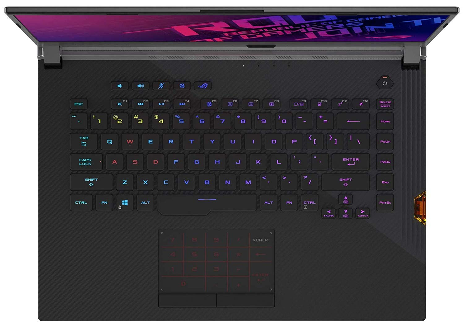 ASUS ROG G531 Gaming Core i7-9750H Windows 10
