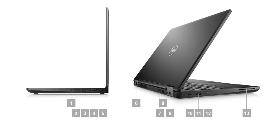 Dell Latitude 5591 Core i5-8400H, Core i7-8850H Windows 10 Pro