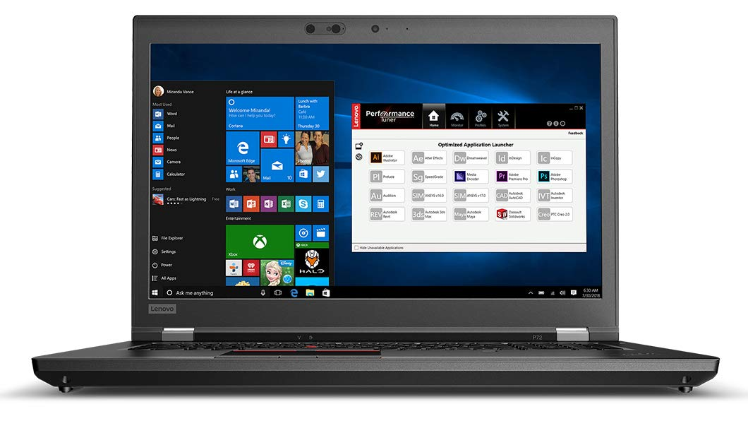 Lenovo Thinkpad P72 Mobile Workstation Core i7, CPU chip Xeon