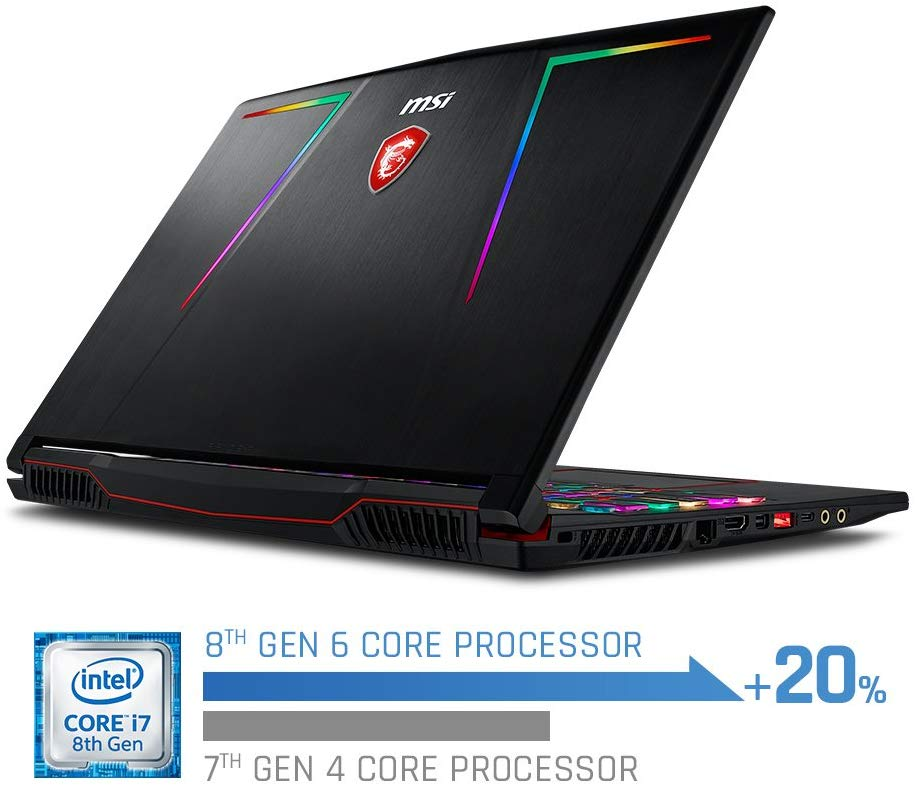 MSI GE63 Raider RGB Gaming Core i7-8750H Windows 10