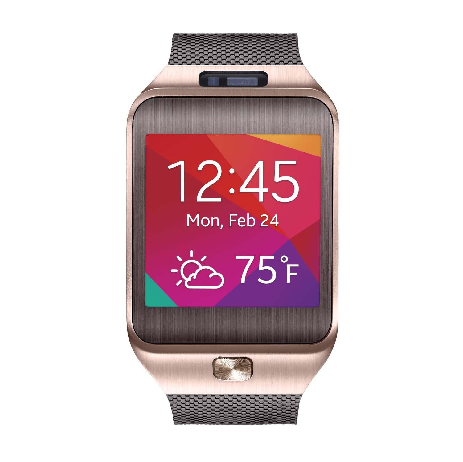 Samsung Gear 2 Smartwatch - Metallic Orange
