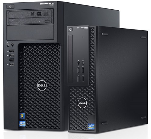 Dell Precision T1700 SFF Workstation Core™ i5-4590 Ram 16GB 256GB SSD Nvidia® Quadro K620 2GB Windows 7 Pro