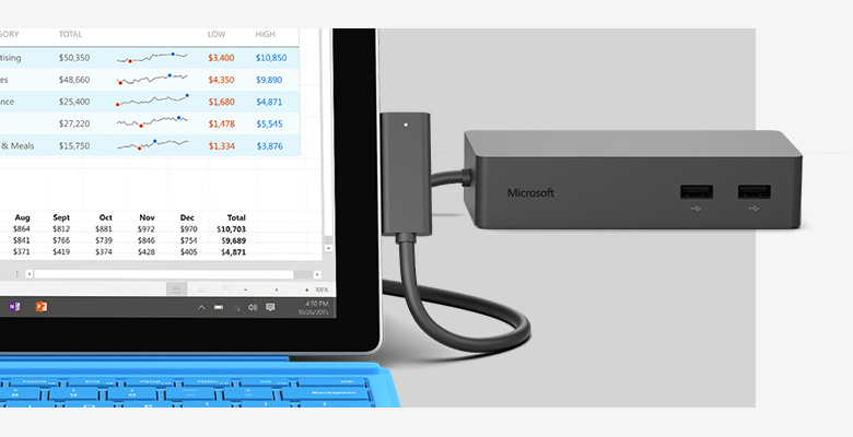 Microsoft surface docking pro 4