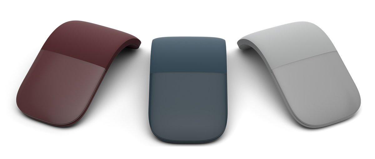 Surface Arc Mouse | Burgundy Color