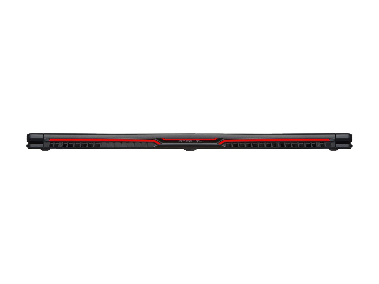 "MSI GS63VR Stealth Pro (7th Gen) 15.6"" VGA GEFORCE® GTX 1060 | GTX 1070 | GTX 1080"