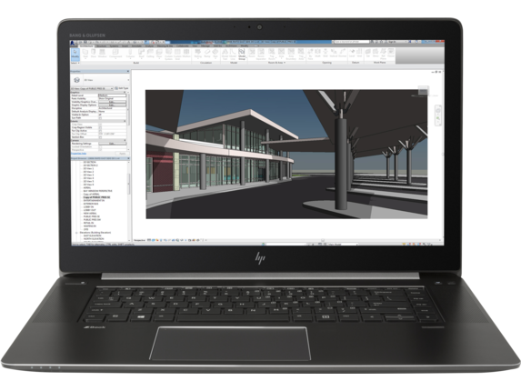 HP ZBook 15 G4 Studio Mobile Workstation VGA M1200 UHD 4K