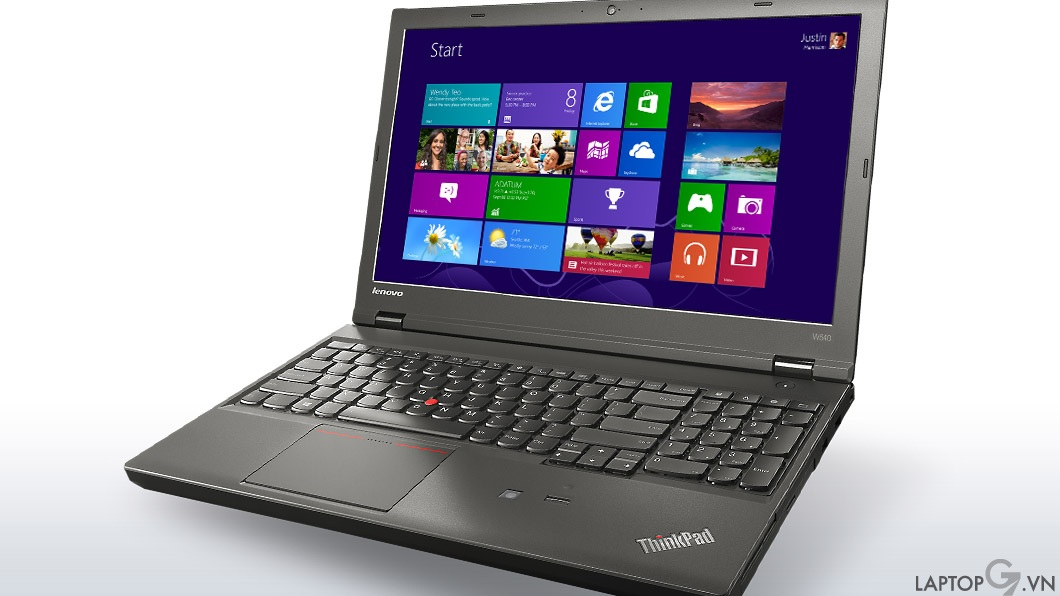 "ThinkPad W540 Workstation Core™ i7-4800MQ 8GB SSD 256GB Quadro K2100M 15.6"" 3K IPS 2880x1620 Windows 7 Pro"