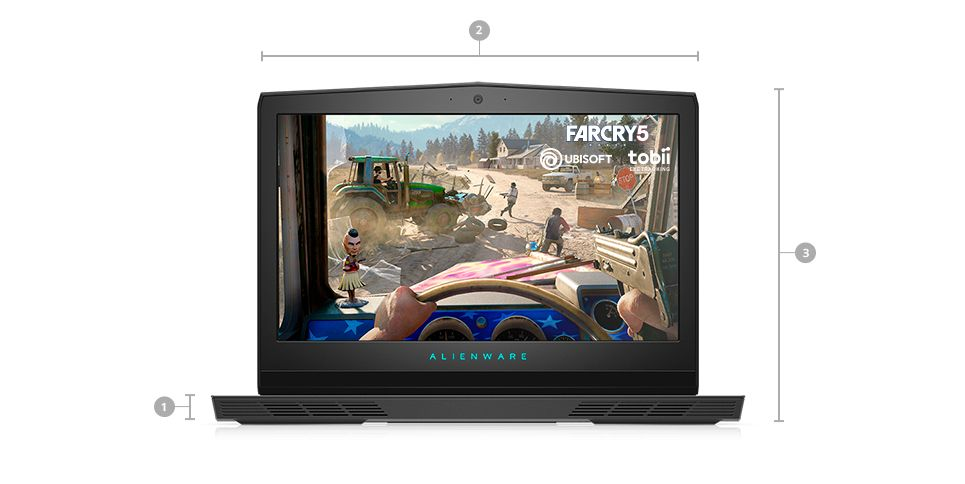 Alienware 17 R5 Gaming Core™ i9-8950HK 17.3inh QHD Windows 10