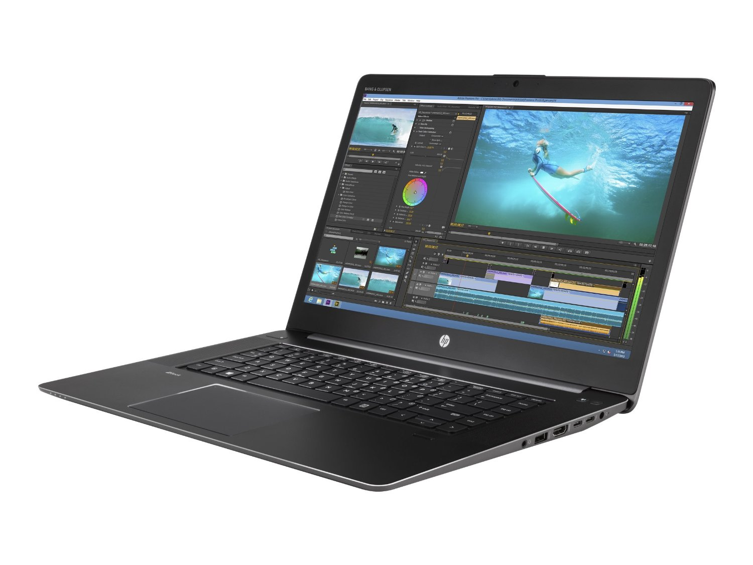 HP ZBook 15 G3 Studio Mobile Workstation Core i7 6820HQ Ram 16GB SSD 512GB 15.6inh 4K Windows 10 Pro