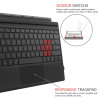 Keyboard Fintie Microsoft Surface Pro | Pro 4 | Pro 3 | Pro 5 Type Cover, [7-Color Backlit]