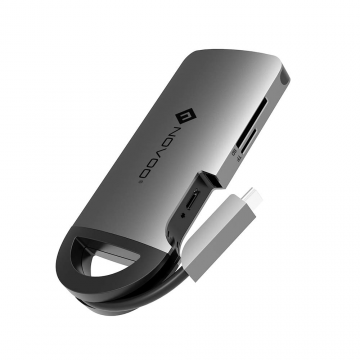 USB C Hub NOVOO Type C Adapter