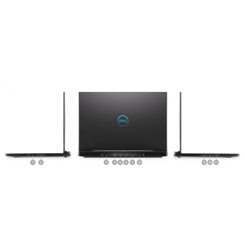 Dell G7 17 7790 gaming Core i5-9300H, Core i7-9750H Windows 10