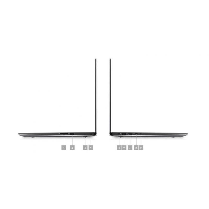 Dell Precision 5540 Workstation Core i7, VGA  Quadro T1000 Windows 10 pro