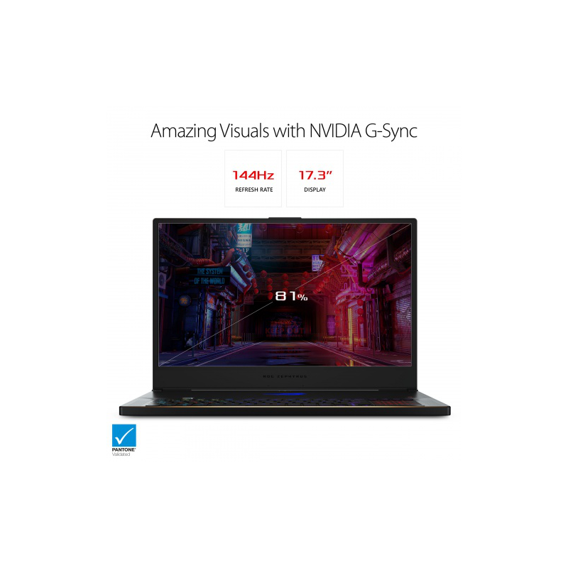 "Asus ROG Zephyrus S GX701 Gaming 17.3"" 144Hz 3ms"