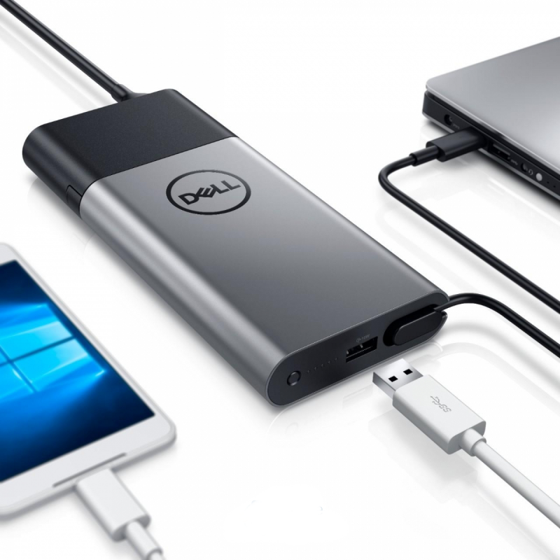 Hybrid Adapter + Power Bank USB-C