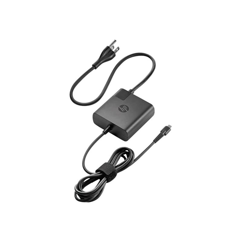 HP USB-C Travel Power Adapter 45W, 65W