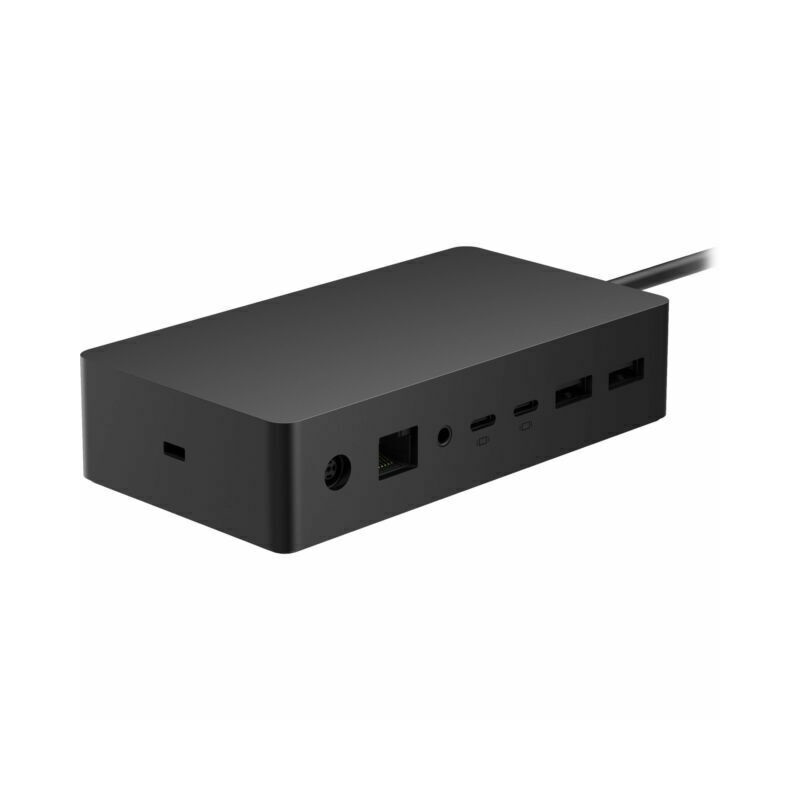 Microsoft Surface Dock 2 Docking Station, Black