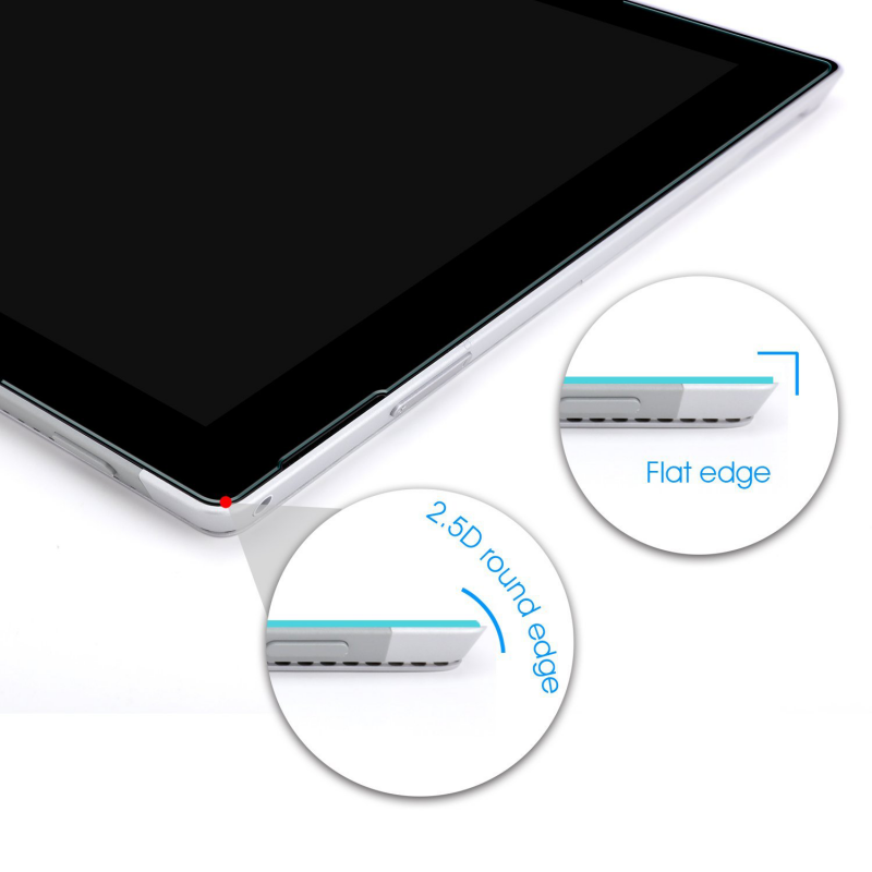 Surface Pro 4 | Pro 5 Screen Protector [Tempered Glass]