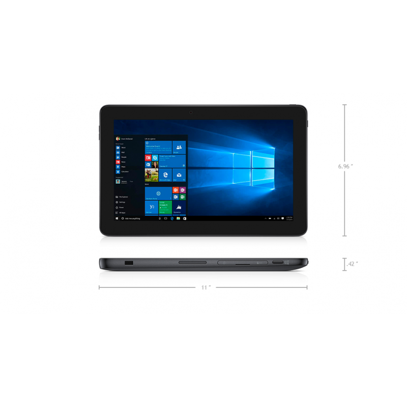 "Dell Latitude 5175 Tablet 2 in 1 for business 10.8"" FHD Touch Windows 10"