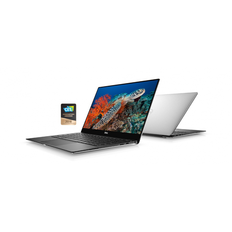 Dell XPS 13 9370 13.3-inch 4K UHD Touchscreen Core i5-8250U | Core i7-8550U | Silver, Rose gold