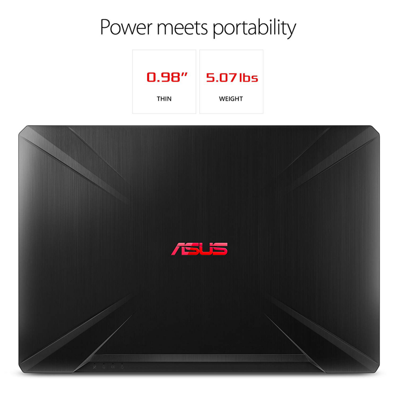 ASUS TUF Gaming Laptop FX504 8th-Gen