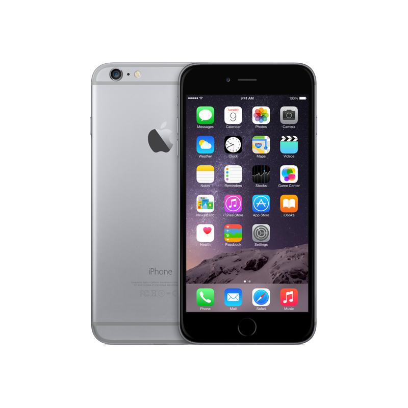 Apple iPhone 6 Plus 64GB Space Gray (Bản quốc tế)