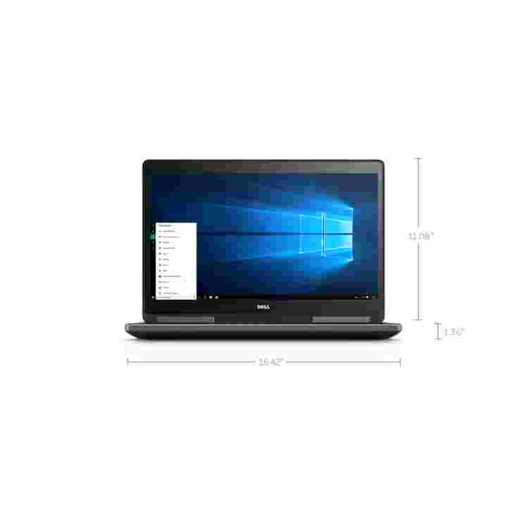 Dell Precision 17 7710 Xeon® E3-1505M 64GB SSD 256GB + 1TB Quadro® M3000M / M4000 UltraSharp™ FHD IPS Windows 10 Pro