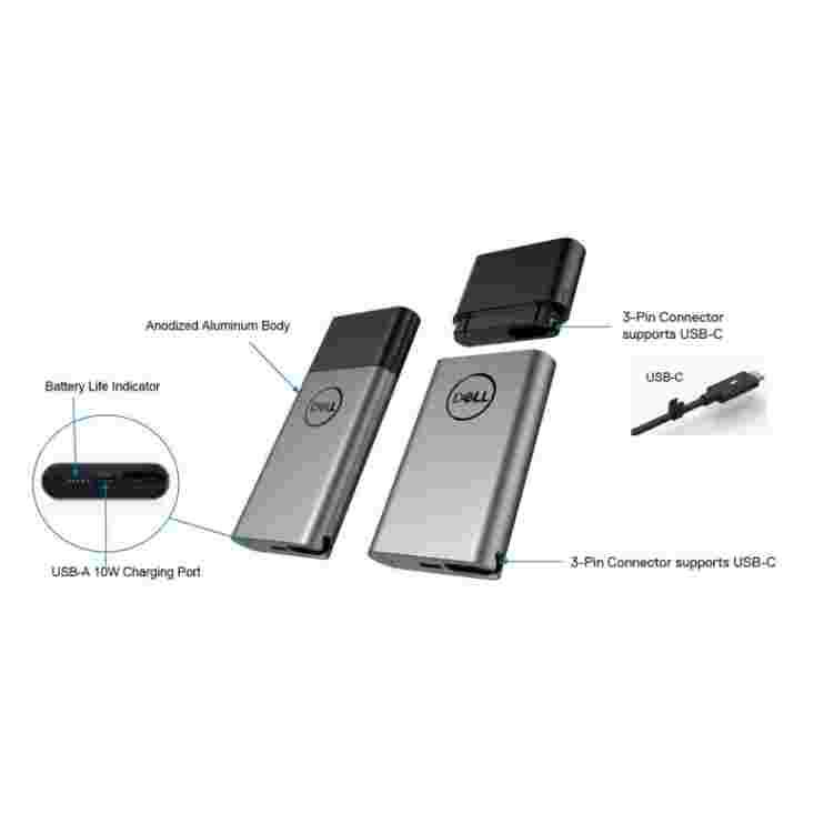 Hybrid Adapter + Power Bank USB-C